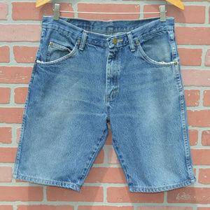 Wrangler Men's Denim Jean Shorts Size 32